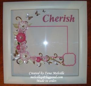 Pink Cherish Frame 2014